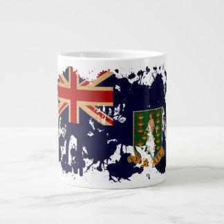 British Virgin Islands Flag Large Coffee Mug
