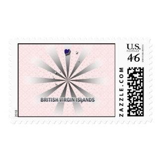 British Virgin Islands Flag Map 2 0 Postage