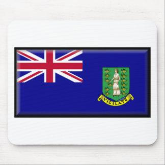 British Virgin Islands Flag Mouse Pads