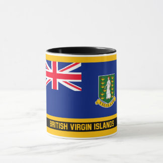 British Virgin Islands Flag Mug