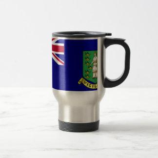 British Virgin Islands Flag 15 Oz Stainless Steel Travel Mug