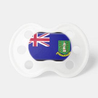 British Virgin Islands Flag Pacifiers