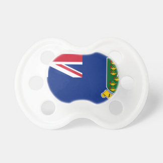 British Virgin Islands Flag Pacifier