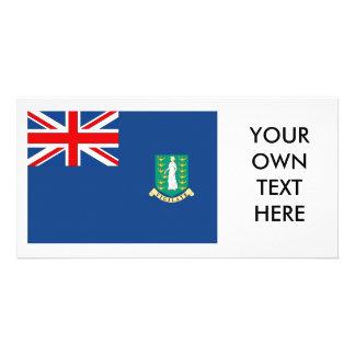 British Virgin Islands Flag Photo Cards