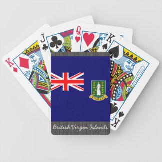 British Virgin Islands Flag Playing Cards