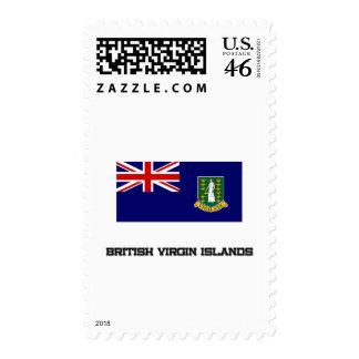 British Virgin Islands Flag Postage