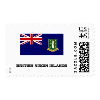 British Virgin Islands Flag Postage Stamp