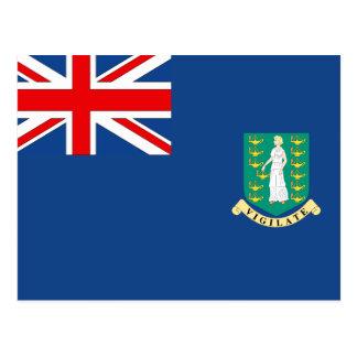 British Virgin Islands Flag Postcards