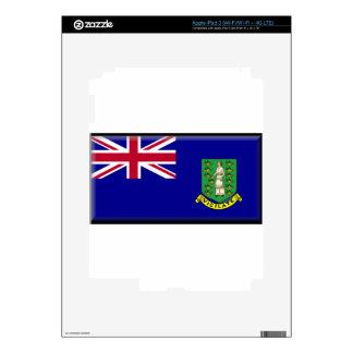 British Virgin Islands Flag iPad 3 Skin