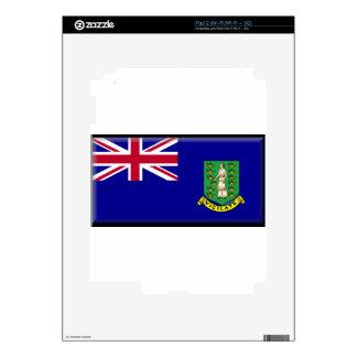 British Virgin Islands Flag iPad 2 Skin