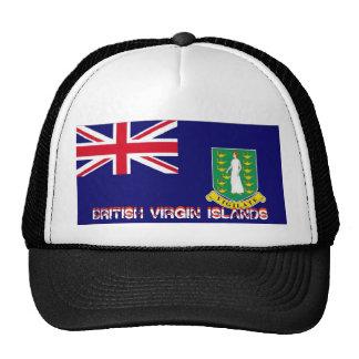 British Virgin islands flag souvenir hat