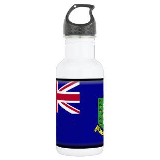 British Virgin Islands Flag Stainless Steel Water Bottle