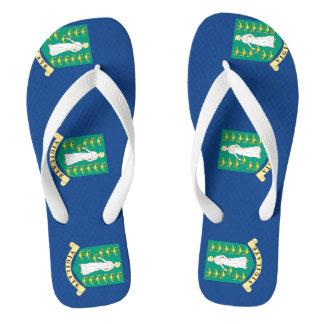 British Virgin Islands Flip Flops