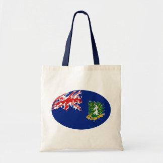 British Virgin Islands Gnarly Flag Bag