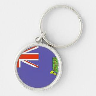 British Virgin Islands Keychain Map