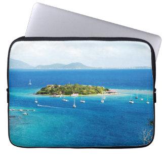 British Virgin Islands Laptop Sleeve