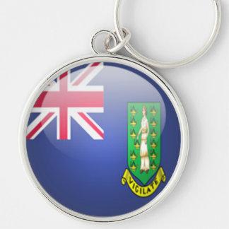 British Virgin Islands - llavero redondo superior