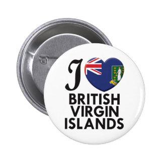 British Virgin Islands Love Pin