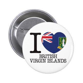 British Virgin Islands Love v2 Pin