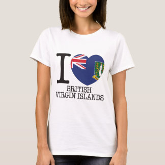British Virgin Islands Love v2 T-Shirt