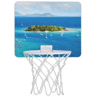 British Virgin Islands Mini Basketball Hoop