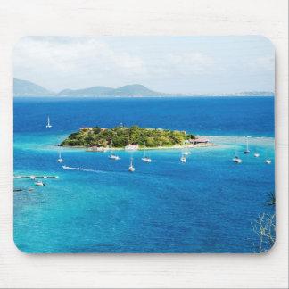 British Virgin Islands Mouse Pad