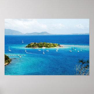 British Virgin Islands Poster