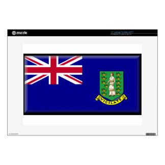 "British Virgin Islands Skin For 15"" Laptop"