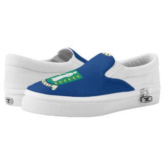 British Virgin Islands Slip-On Sneakers