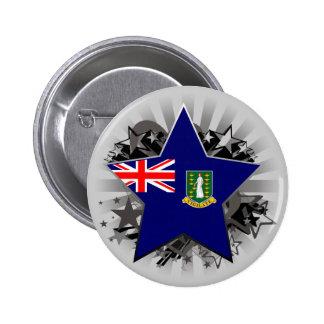 British Virgin Islands Star Buttons