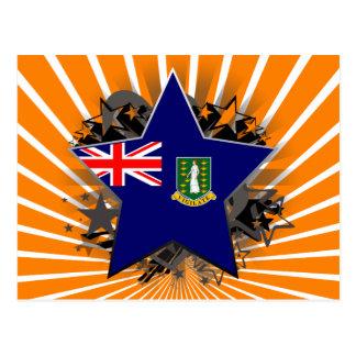 British Virgin Islands Star Postcards
