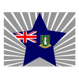 British+Virgin+Islands Star Postcard