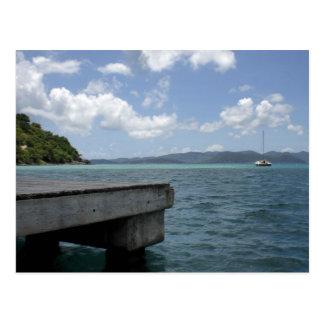British Virgin Islands Tarjeta Postal