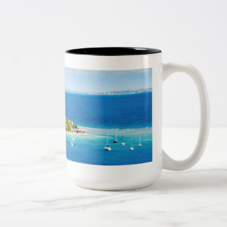 British Virgin Islands Two-Tone Coffee Mug
