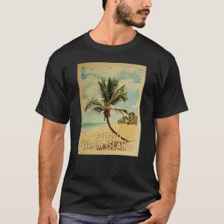 British Virgin Islands Vintage Travel T-shirt