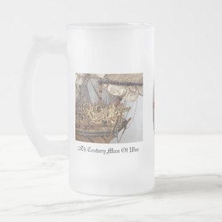 British Warship Beer Mug