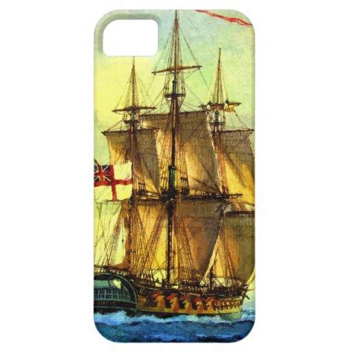 British warship iPhone 5 covers