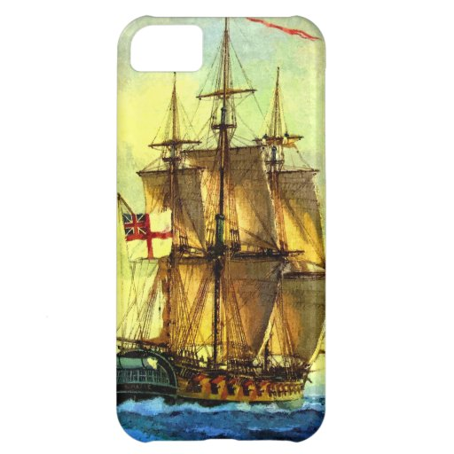 British warship iPhone 5C cover