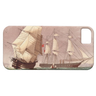 British warship HMS Warrior iPhone SE/5/5s Case