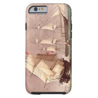 British warship HMS Warrior Tough iPhone 6 Case
