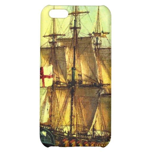 British warship iPhone 5C covers
