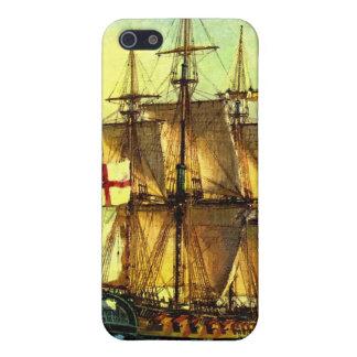 British warship iPhone SE/5/5s cover
