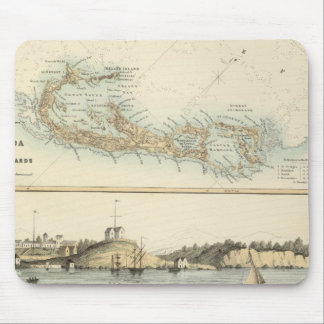 British West Indian Possessions Mouse Pad