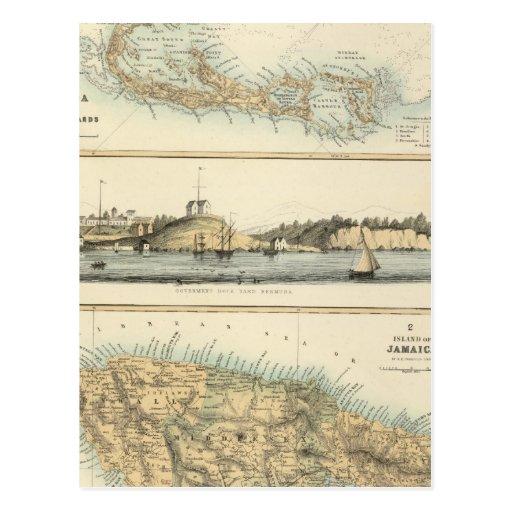 British West Indian Possessions Postcard