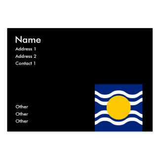 British West Indies Business Card Template