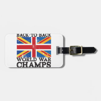 British World War Victory Bag Tag