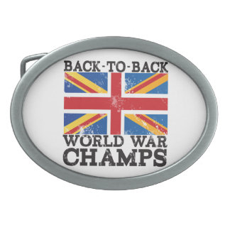 British World War Victory Belt Buckle