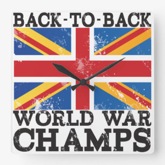 British World War Victory Clocks