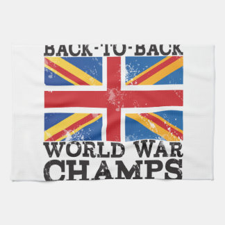British World War Victory Hand Towels
