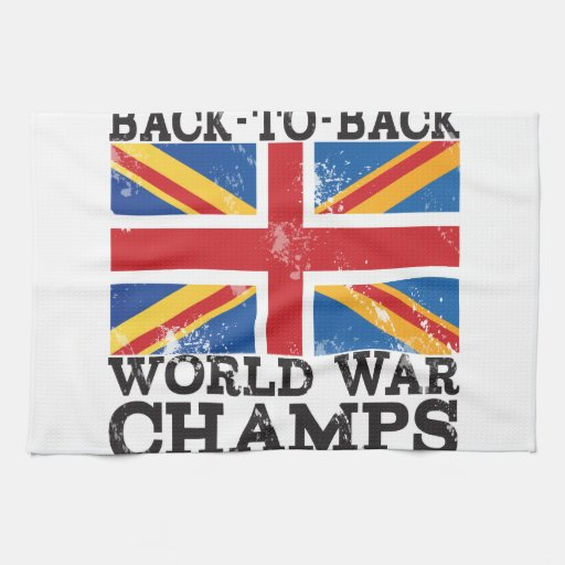 British World War Victory Kitchen Towels